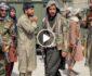 ویدیو/ لحظه حمله طالب مسلح بر یک خبرنگار خارجی در کابل