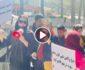ویدیو/ مظاهره زنان و دختران کابل در برابر وزارت امر به معروف و نهی از منکر