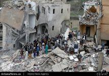 جنایت آل سعود یمن (5)