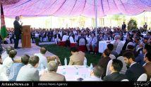 نشست حمایت از کارمندان صحی در ارگ سپیدار برگزار شد
