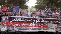 تظاهرات ضد آمریکایی و ضد ناتو در کابل