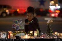 در ماتم قربانیان تیراندازی هفته گذشته در شهر لاس وگاس امریکا – لاس وگاس