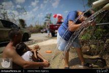 زنده گی توفان زدگان در پورتوریکو